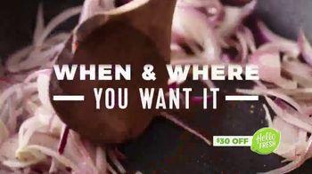 HelloFresh TV Spot, 'The Food You Crave' - Thumbnail 6