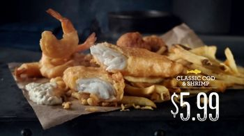 Long John Silver\'s Classic Cod & Shrimp TV Spot, \'Different New\'