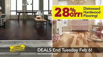 Lumber Liquidators TV Spot, 'This Week Deals: Distressed Hardwood'