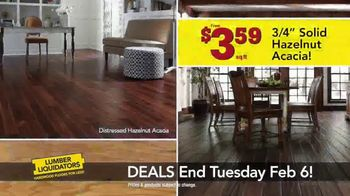 Lumber Liquidators TV Spot, 'This Week Deals: Distressed Hardwood' - Thumbnail 4