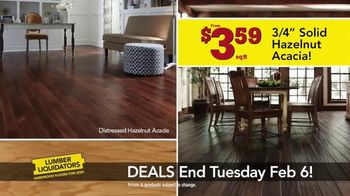 Lumber Liquidators TV Spot, 'This Week Deals: Distressed Hardwood' - Thumbnail 5