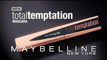Maybelline New York Total Temptation Mascara TV Spot, 'Suaves' [Spanish]