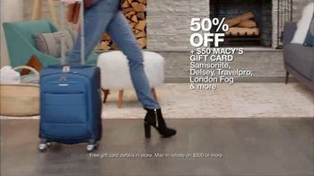 Macy's Big Home Sale TV Spot, 'Bedroom, Kitchen and Luggage' - Thumbnail 8
