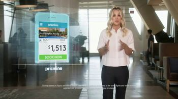 Priceline.com TV Spot, 'Treadmill' Featuring Kaley Cuoco - Thumbnail 3