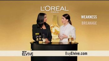 L'Oreal Paris Elvive TV Spot, 'Revive Damaged Hair' Featuring Deepica Mutyala