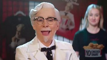 KFC $10 Chicken Shares TV Spot, 'Merch Table' Featuring Reba McEntire - Thumbnail 1