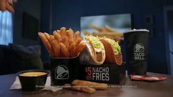 Taco Bell Nacho Fries $5 Box TV Spot, 'Mentiras' con Josh Duhamel [Spanish] - Thumbnail 9