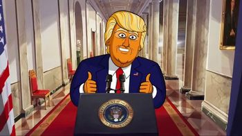 Showtime TV Spot, 'Our Cartoon President' - Thumbnail 2