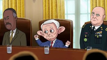Showtime TV Spot, 'Our Cartoon President' - Thumbnail 7