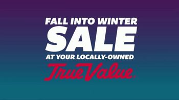True Value Hardware Fall Into Winter Sale TV Spot, 'Power Equipment'