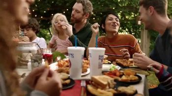 Zaxby's Chicken Parmesan Sandwich Meal TV Spot, 'Making Life Delicious' - 269 commercial airings