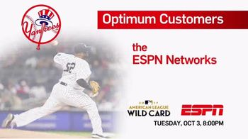 ESPN TV Spot, 'Optimum Customers' - Thumbnail 1