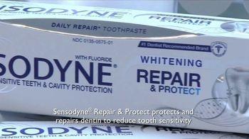 Sensodyne Whitening Repair & Protect TV Spot, 'Reception'