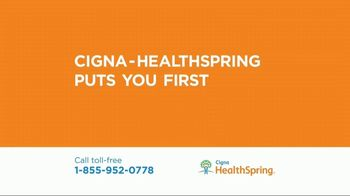 Cigna HealthSpring TV Spot, 'Designed Around You' - 12 commercial airings