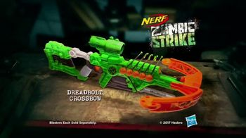 Nerf Zombie Strike Dreadbolt TV Spot, 'Cable Guys' - Thumbnail 9