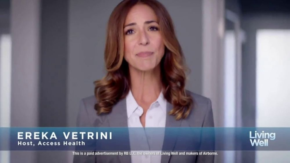 Airborne Gummies TV Commercial, 'Living Well: Busy' Featuring Ereka Vetrini