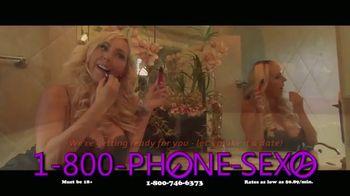 1-800-PHONE-SEXY TV Spot, 'Bubble Bath'