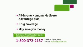 Humana Medicare Advantage Plan TV Spot, 'Decision Guide' - Thumbnail 3
