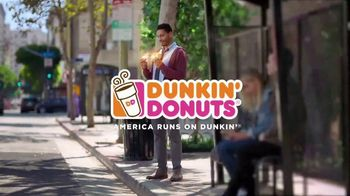 Dunkin' Donuts Bacon, Egg & Cheese Croissant TV Spot, 'Save the Day' - Thumbnail 9