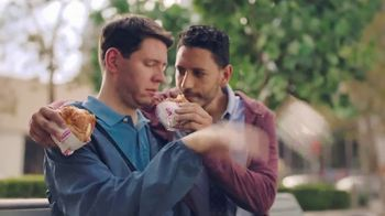 Dunkin' Donuts Bacon, Egg & Cheese Croissant TV Spot, 'Save the Day' - Thumbnail 6