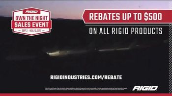 Rigid Industries Own the Night Sales Event TV Spot, 'Brighter. Stronger' - Thumbnail 5