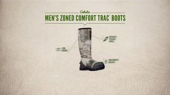 Cabela's Men's Zoned Comfort Trac Boots TV Spot, 'Everyday Value' - Thumbnail 7