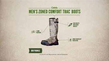 Cabela's Men's Zoned Comfort Trac Boots TV Spot, 'Everyday Value' - Thumbnail 8