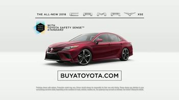 2018 Toyota Camry XSE TV Spot, 'Defense' Featuring Eli Manning [T1] - Thumbnail 6