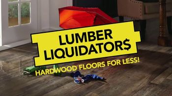 Lumber Liquidators TV Spot, 'Wood-Look Water Proof Flooring: Dark Hollow' - Thumbnail 2