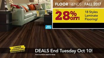Lumber Liquidators TV Spot, 'Wood-Look Water Proof Flooring: Dark Hollow' - Thumbnail 5