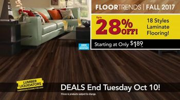 Lumber Liquidators TV Spot, 'Wood-Look Water Proof Flooring: Dark Hollow' - Thumbnail 6