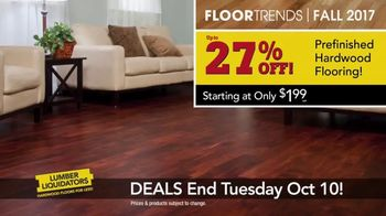 Lumber Liquidators TV Spot, 'Wood-Look Water Proof Flooring: Dark Hollow' - Thumbnail 7