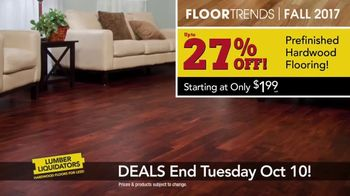 Lumber Liquidators TV Spot, 'Wood-Look Water Proof Flooring: Dark Hollow' - Thumbnail 8