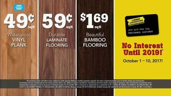 Lumber Liquidators TV Spot, 'Wood-Look Water Proof Flooring: Dark Hollow' - Thumbnail 9