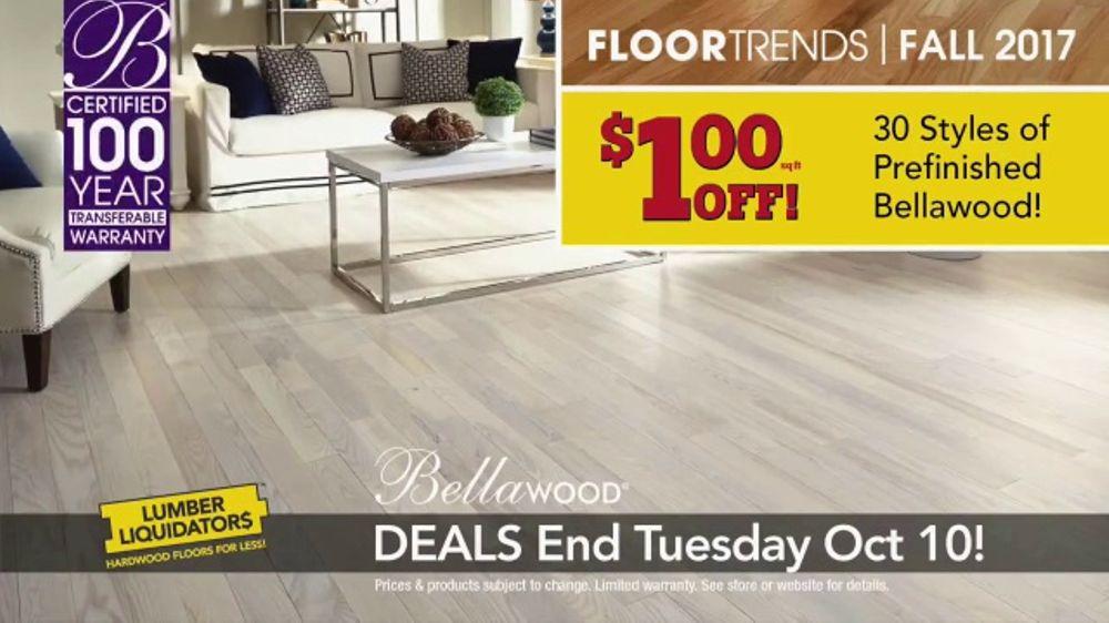Lumber Liquidators 2017 Fall Floor Trends TV Commercial, 'Freshen Up'