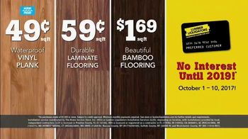Lumber Liquidators 2017 Fall Floor Trends TV Spot, 'Freshen Up' - Thumbnail 7