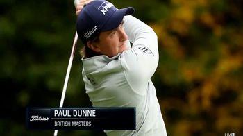 Titleist Pro V1x TV Spot, 'Winners' Circle: Paul Dunne' - 3 commercial airings