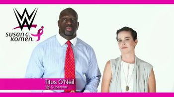 Susan G. Komen for the Cure TV Spot, 'WWE Network: Dana' Feat. Titus O'Neil