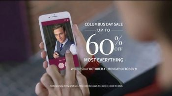 Columbus Day Sale: Suits and Dress Shirts thumbnail