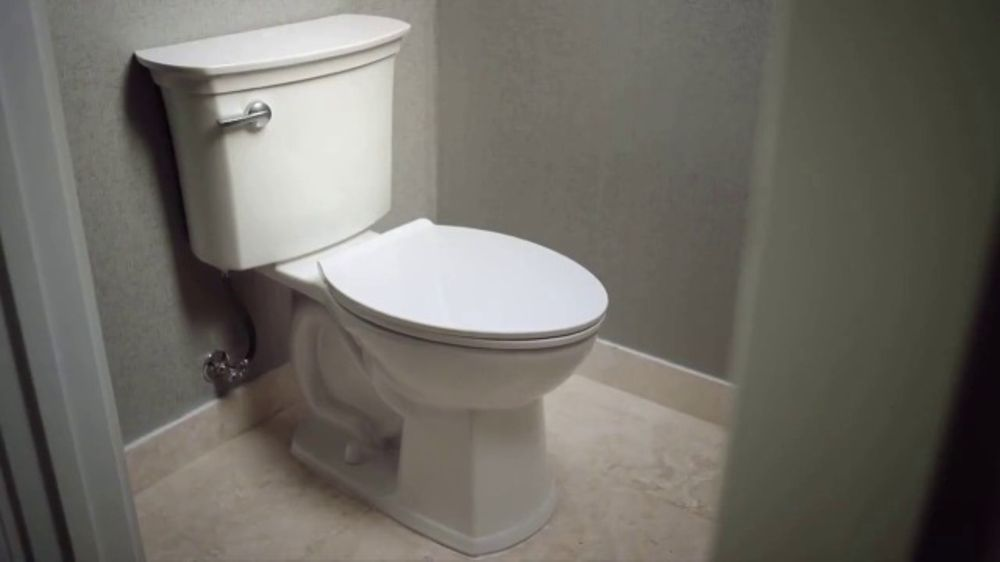 American Standard Acticlean Self Cleaning Toilet Tv