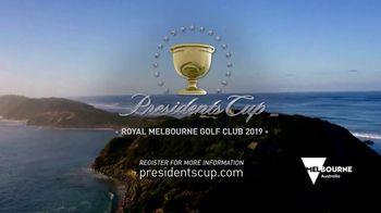 PGA TOUR 2019 Presidents Cup TV Spot, 'Melbourne' - Thumbnail 10