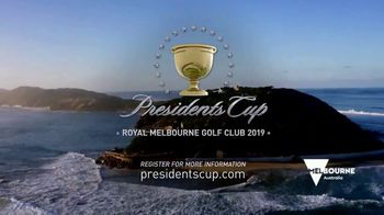 PGA TOUR 2019 Presidents Cup TV Spot, 'Melbourne' - Thumbnail 9