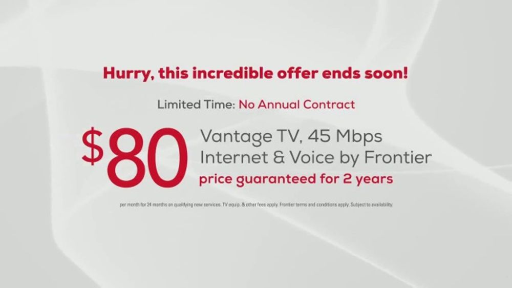 FiOS by Frontier TV Commercial, 'Cable Keeps Raising Prices: Vantage TV'