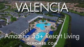 GL Homes Valencia TV Spot, 'Resort Living'