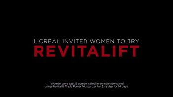 L'Oreal Paris Revitalift Triple Power TV Spot, 'Skeptical' - Thumbnail 4
