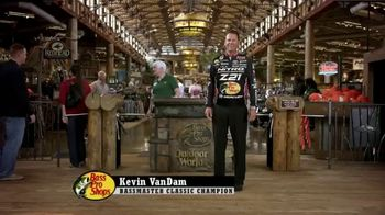 Bass Pro Shops TV Spot, 'Family Hoodies and Leupold' Featuring Kevin VanDam - Thumbnail 1