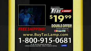Bell + Howell Tac Lamp TV Spot, 'Hands-Free Head Lamp' Feat. Nick Bolton - Thumbnail 7