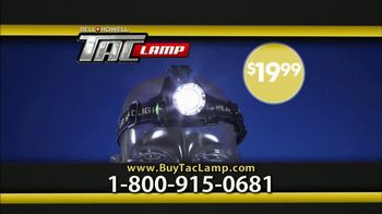 Bell + Howell Tac Lamp TV Spot, 'Hands-Free Head Lamp' Feat. Nick Bolton - Thumbnail 6