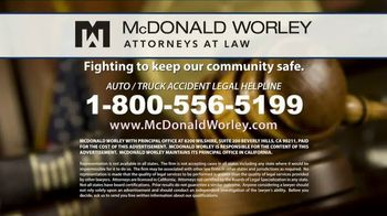 McDonald Worley TV Spot, 'Auto Injuries' - Thumbnail 10