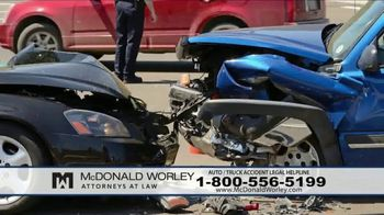 McDonald Worley TV Spot, 'Auto Injuries' - Thumbnail 2
